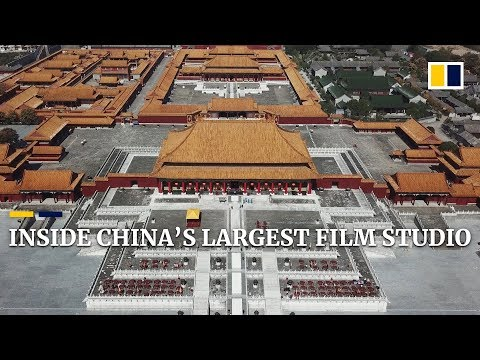 Inside China's largest film studio