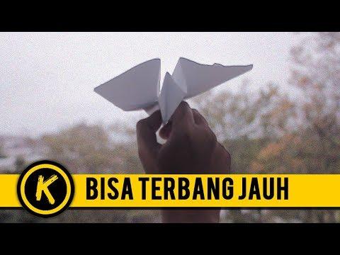 Cara Membuat Pesawat Kertas yg Bisa Terbang Jauh - Origami Pesawat