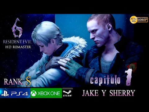 Resident Evil 6 HD Campaña Jake y Sherry Capitulo 1 | Parte 11 Gameplay Español | No HUD 1080p