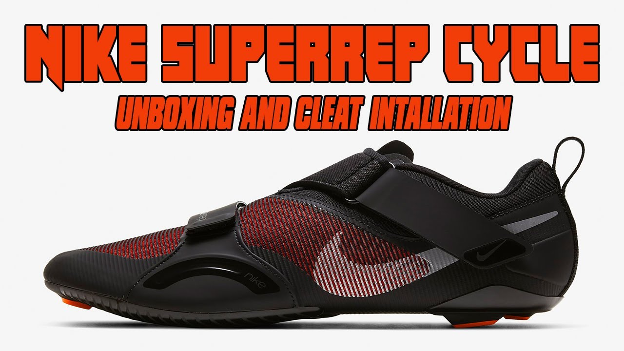 Preparación robo Bajo  Nike SuperRep Cycle - Unboxing and Cleat Installation - YouTube