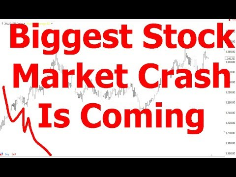 Biggest Stock Market Crash Is Coming
