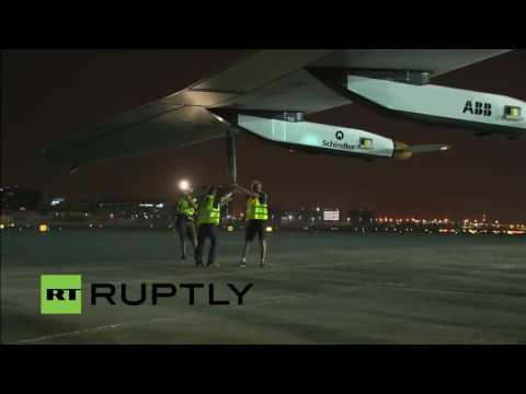 LIVE: Solar impulse 2 to make final landing in Abu Dhabi