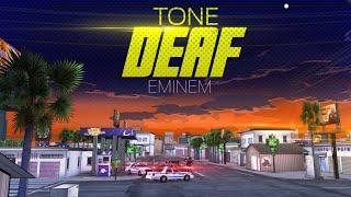 Eminem - Tone Deaf (Lyric Video)
