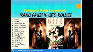 16 LOVE SONGS ROCK LEGEND BY IKANG FAUZI & GITO ROLLIES VOL 1 - Tembang Nostalgia Puisi Cinta