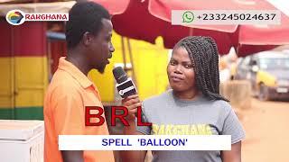 SPELL BALLOON - Street Quiz   Funny Videos