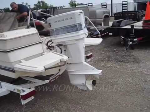 4 sale 16 39 bayliner capri 85hp outboard open bow runabout for Runabout boats with outboard motors