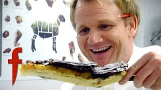 Gordon Ramsay Tries A Giant Jaffa Cake | The F Word