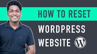 How to Reset y๐ur WordPress Site