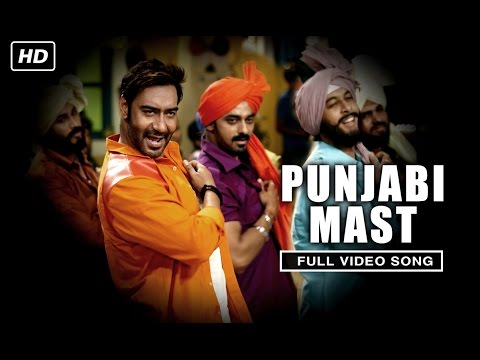 Punjabi Mast (Uncut Video Song) | Action Jackson | Ajay Devgn & Sonakshi Sinha