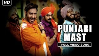 Punjabi Mast (Full Video Song) | Action Jackson