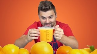 видео Как сделать сок из апельсина?