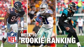 Top 10 Rookies Through Week 10 | Bucky Brooks on NFL Now | NFL