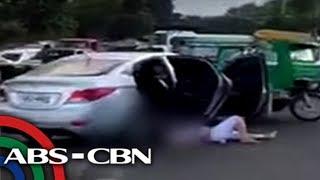 TV Patrol: Motoristang sinita sa checkpoint, namaril ng HPG