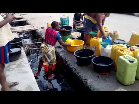 Lagos Public Water Supply Shortage