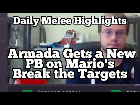 Daily Melee Highlights: Armada Gets a New PB on Mario's Break the Targets