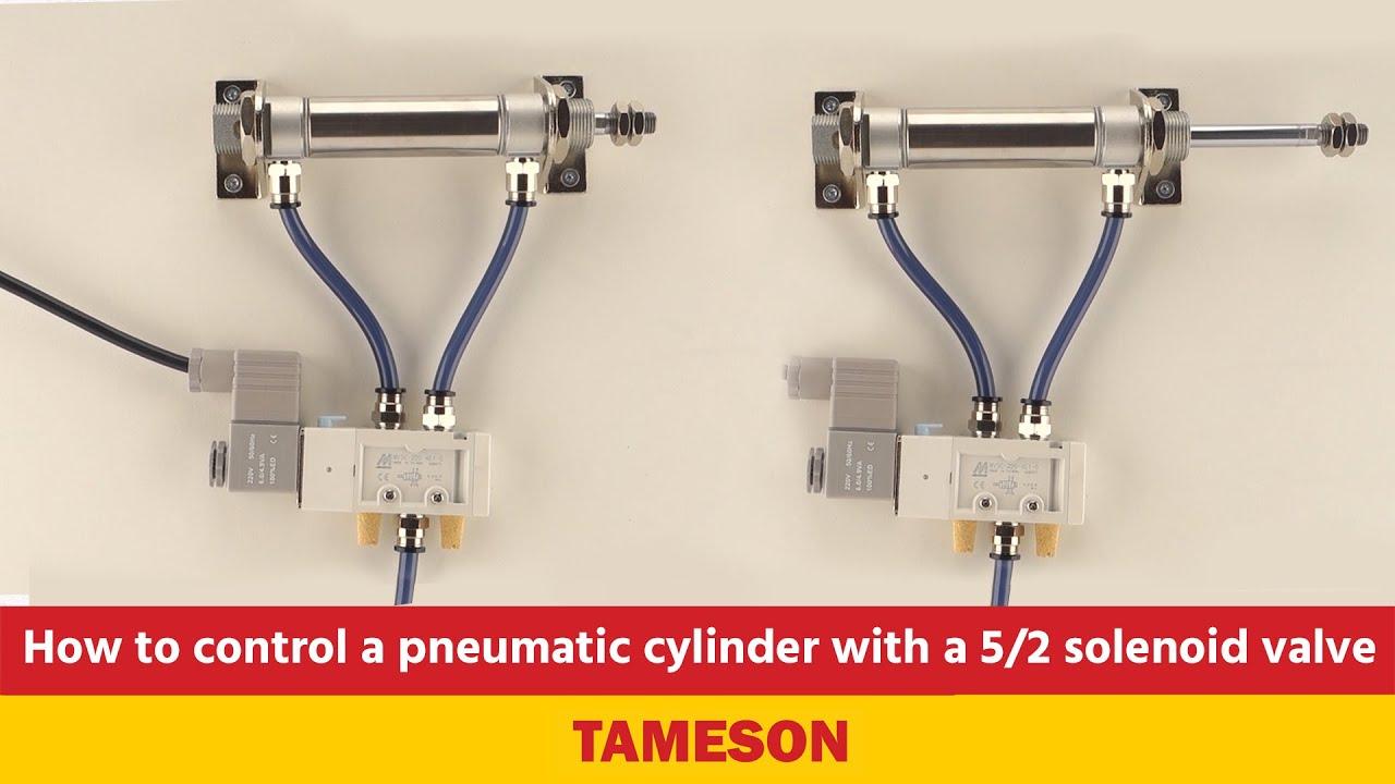 5/2-Way and 4/2-Way Pneumatic Valves | tameson com