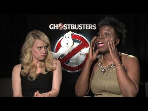 Leslie Jones & Kate McKinnon Talk Ghostbusters & Tackling Serious Issues in Comedy