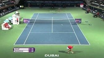 Ekaterina Makarova 2015 Dubai Duty Free Tennis Championships Hot Shot