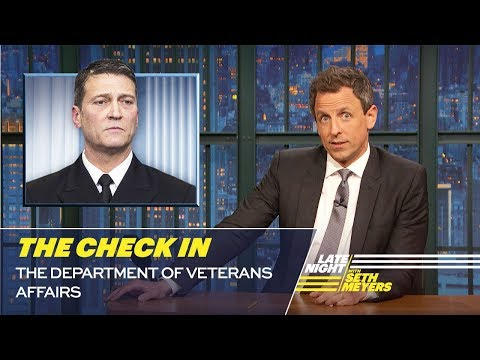 The Check In: The Department of Veterans Affairs