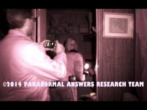 Paranormal Answers Research Team, GIRL GETS SCRATCHED Muncie, Indiana 2/22/14