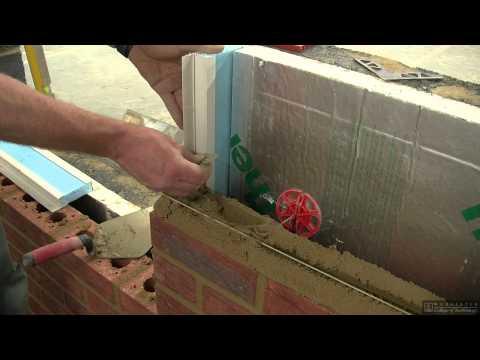 Brickwork-Cavity closure clips