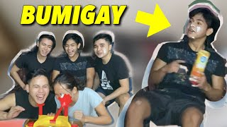 SNAKE PRANK! BUMIGAY SI BUNSO (JAPET CAPUNO) | PIE FACE CHALLENGE WITH CAPUNO BROTHERS