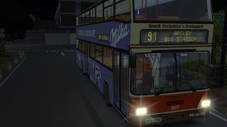OMSI 2 Bowdenham V4.0 (Chrono Event E) Route 91 Oakwood Green - Apsley Bus Station (HD)