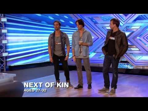 CRHnews -  Essex  'BeeGees'  Next of Kin X-Factor judges standing ovation Mp3
