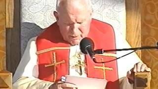 Jan Paweł II Gorzów Wielkopolski, 2 06 1997  Homilia POTRZEBA ŚWIADECTWA WIERNOŚCI CHRYSTUSOWEJ EWAN
