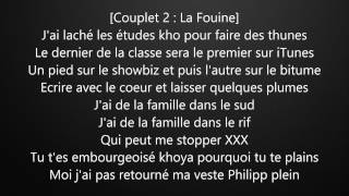 La Fouine ft Reda Taliani - Va Bene avec Paroles/Lyrics