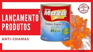 Maza lança novos produtos antichamas - Tintas Maza