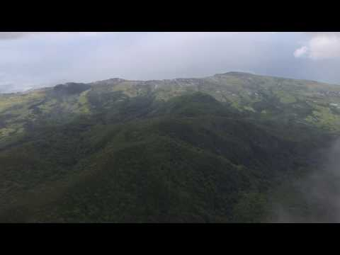 St Kitts Mt Liamuiga Drone Flight