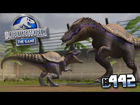 A MORE DANGEROUS HYBRID !!! || Jurassic World - The Game - Ep 442 HD