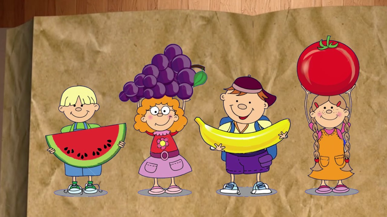 Video Cuento El Misterio De Las Frutas Y Los Vegetales Youtube