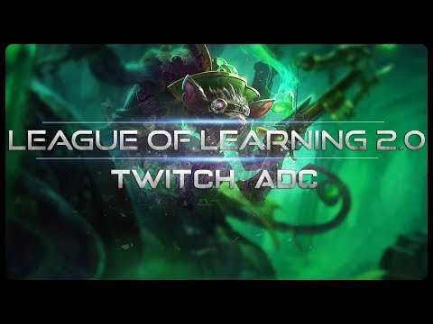 [ITA-GUIDA] TWITCH VS VAYNE - TWITCH ADC - League Of Legends