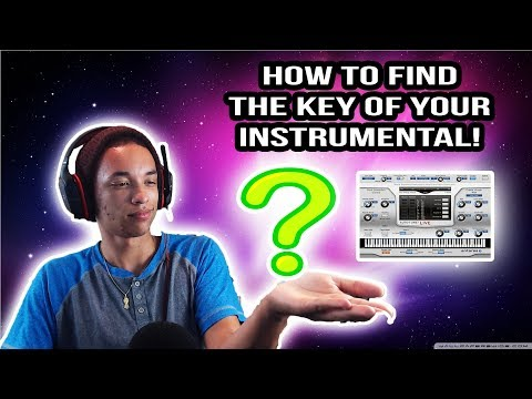 How To Find YOUR BEAT/INSTRUMENTAL Autotune Key!!