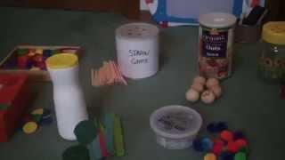 Fine Motor skills activities for toddlers DIY