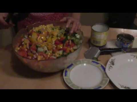Kochen mit Thao Blind in der Küche
