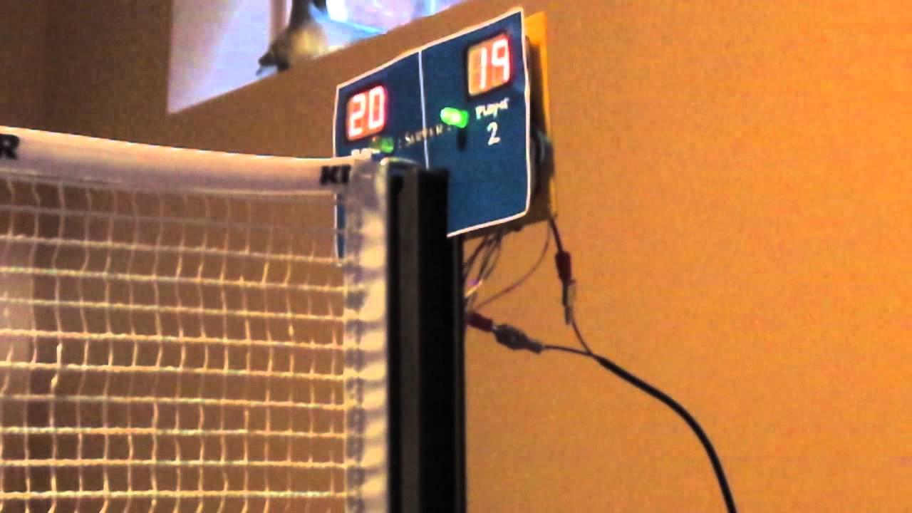 Ping Pong Arduino Scoreboard Youtube
