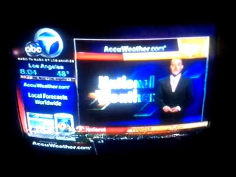 Los Angeles digital television channels February 17, 2009