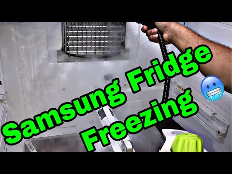 Samsung French Door Refrigerator Fridge Side not cooling