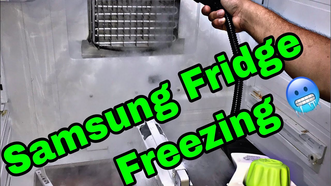 samsung french door refrigerator fridge side not cooling [ 1280 x 720 Pixel ]