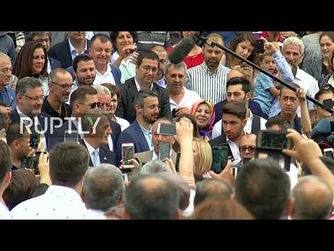 LIVE: Turkish elections: opposition candidate Muharrem Ince casts ballot in Yalova