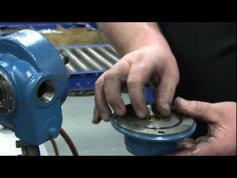 LG1 Sliding Vane Pump Maintenance