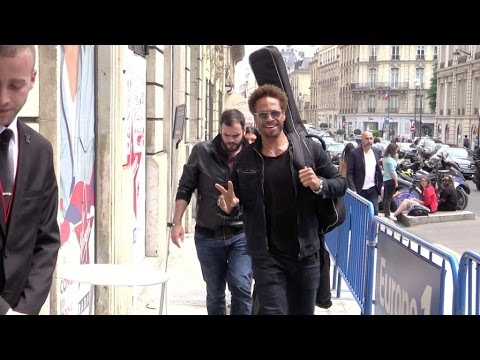 EXCLUSIVE: actor singer Gary Dourdan goes to Europe 1 radio station in Paris