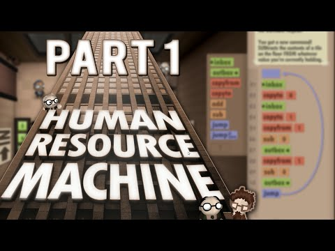 Human Resource Machine Gameplay Part 1 - PROGRAMMING IS FUN - Let's Play Human Resource Machine