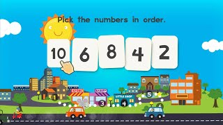 """Animal Kindergarten Math Free """"Educational Education Games"""" Android Gameplay Video"""