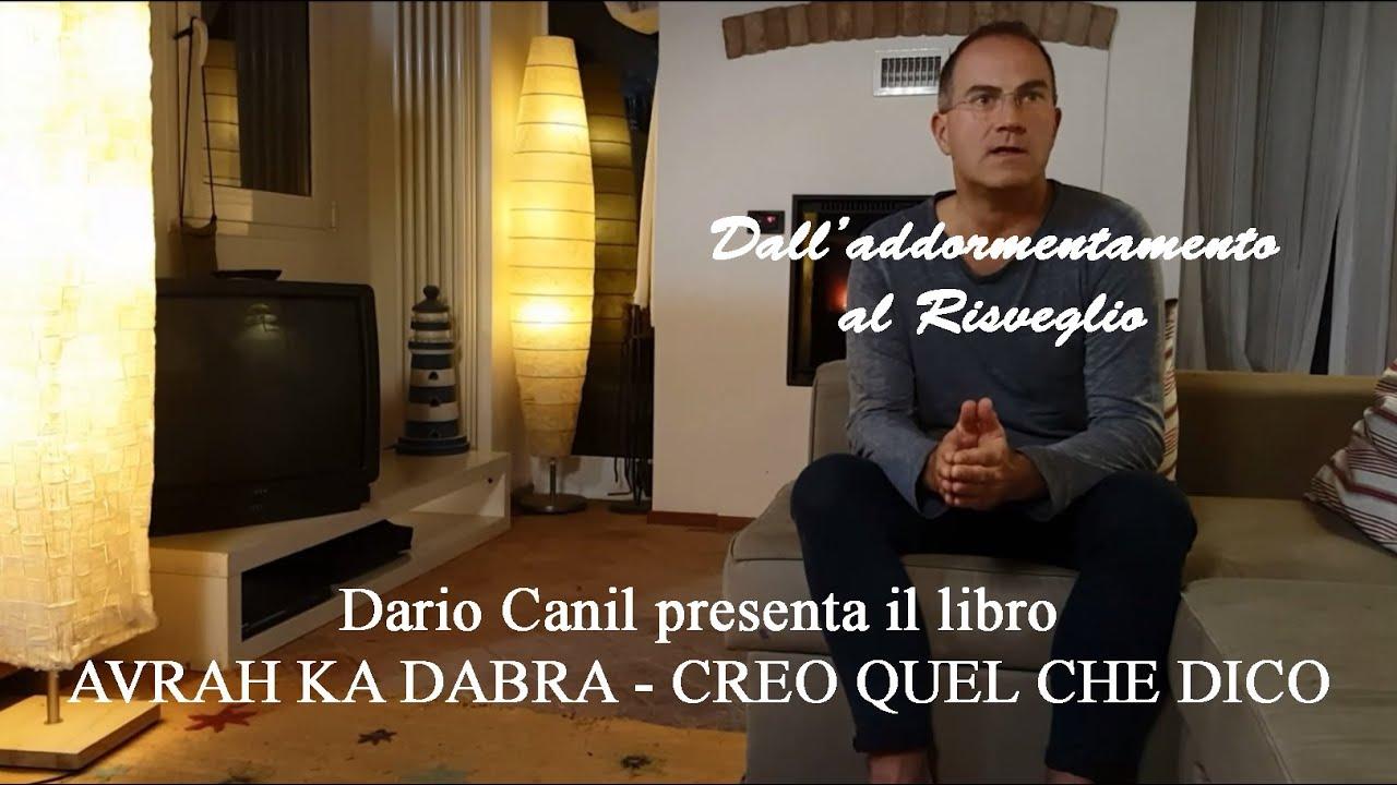 Dario canil presenta il libro avrah ka dabra creo quel for Ka che streichen farbideen