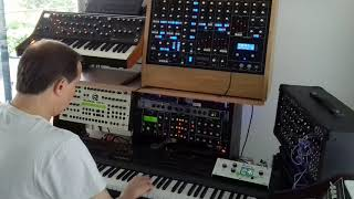SYNTHR3 modular synth original specifications part 8 : AFTERTOUCH & SPLIT ARPEGGIO PATCH