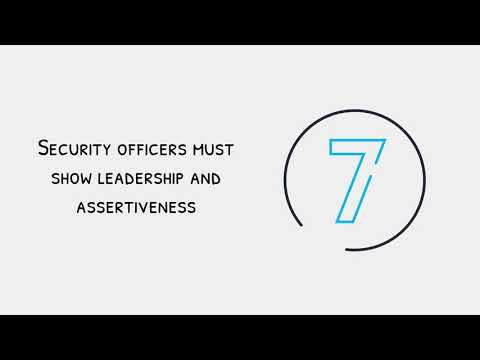 10 Ways to Be a Successful Security Officer | Northern Force Security